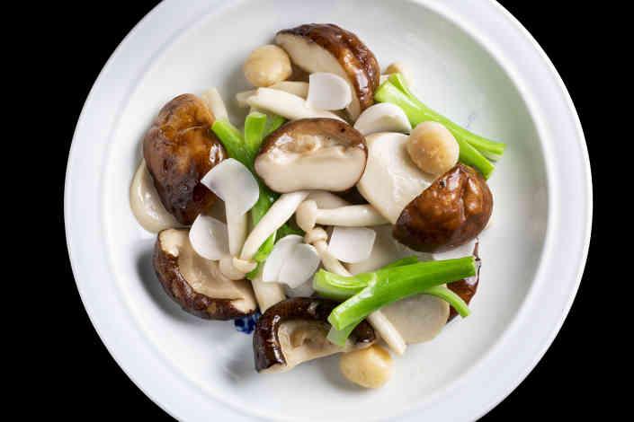Three style mushroom