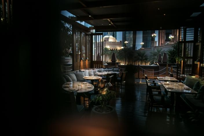 Hakkasan Abu Dhabi's lounge
