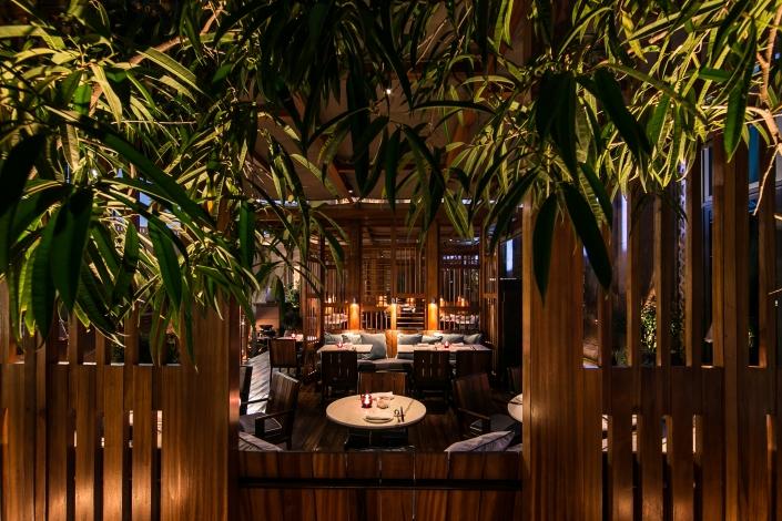 Hakkasan Abu Dhabi's main dining room