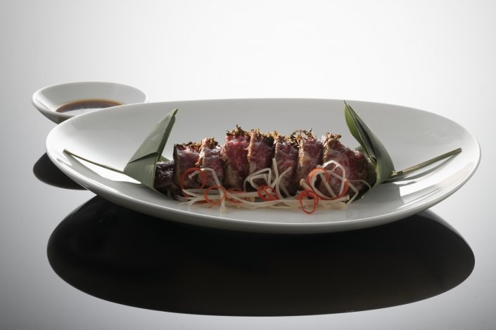 Grilled Wagyu beef