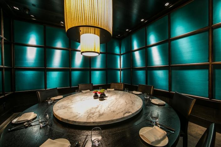 The Jade Room at Hakkasan San Francisco