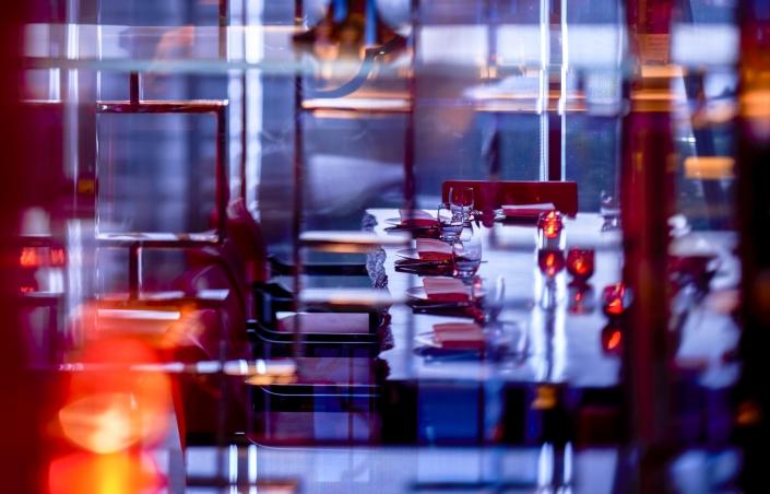 Hakkasan Jakarta's private dining room