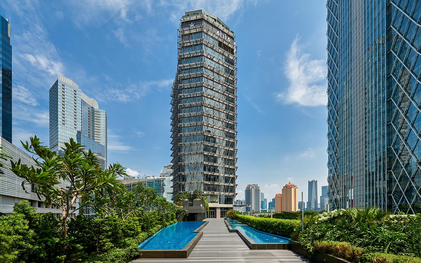 Alila SCBD Jakarta, home of Hakkasan Jakarta