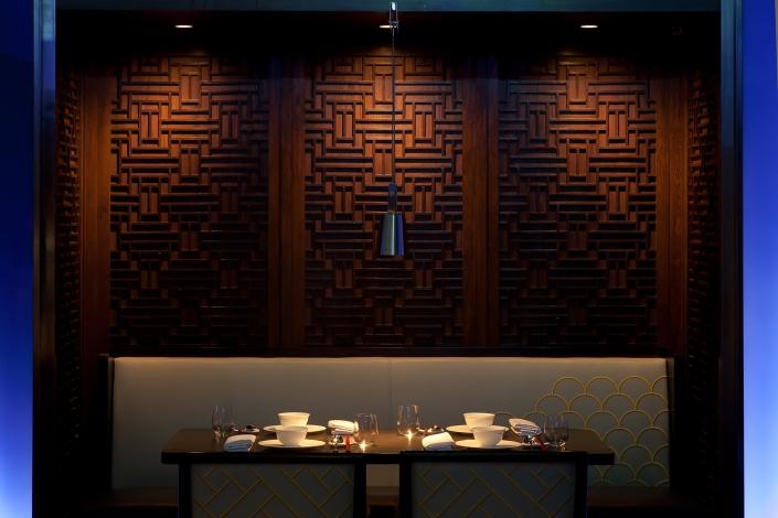 Dining room in Hakkasan Mumbai