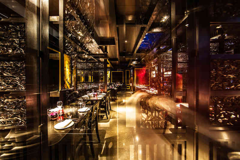 Main dining room at Hakkasan