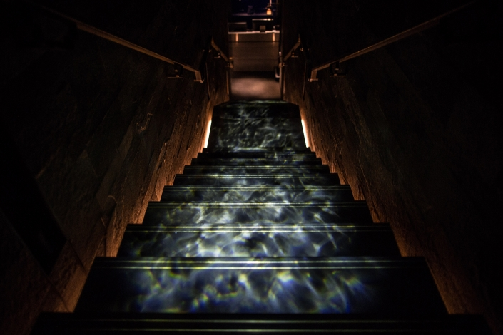 Hakkasan Mayfair staircase